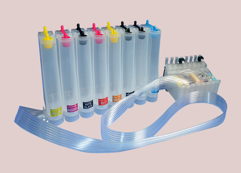 continue ink supply system for t-shirt printer